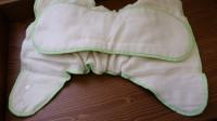 Пеленальные трусики Наппи на кнопках с анатомическим вкладышем