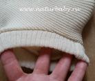 Однослойные пеленальные штанишки с высоким поясом  Наппи